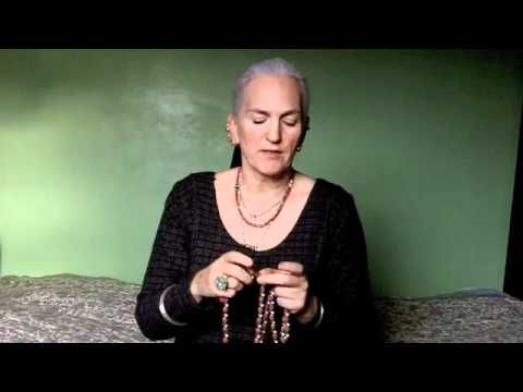 How to Use a Mala offers clear instruction on proper use of these beautiful and functional meditation tools.