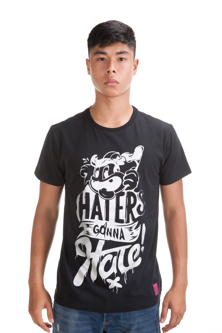 Silver Hater Tee  Rp. 249,000  Available in S, M, L and XL