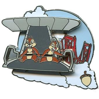 Chip and Dale Adventure - Soarin' | Disney Pin
