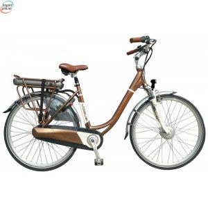 Vogue Premium Gold Brown - Elektrisk sykkel