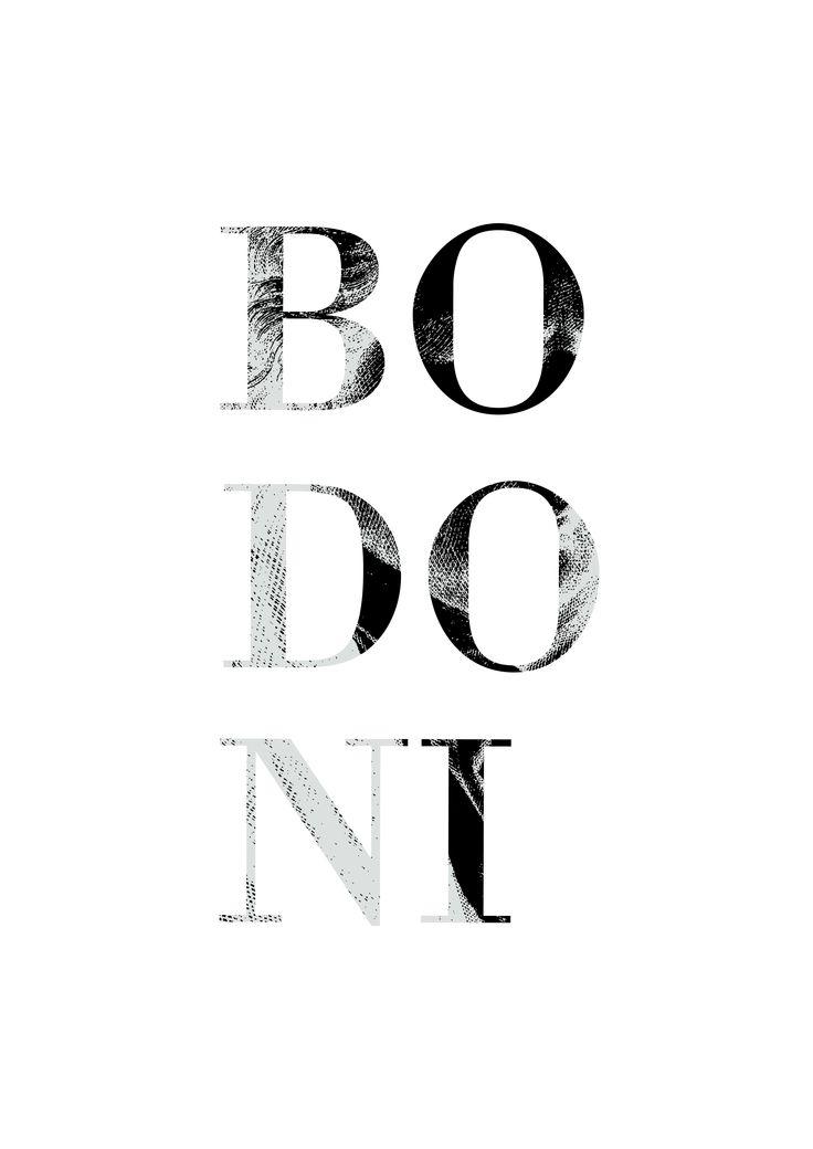 Bodoni Font Anouk Brusselaers