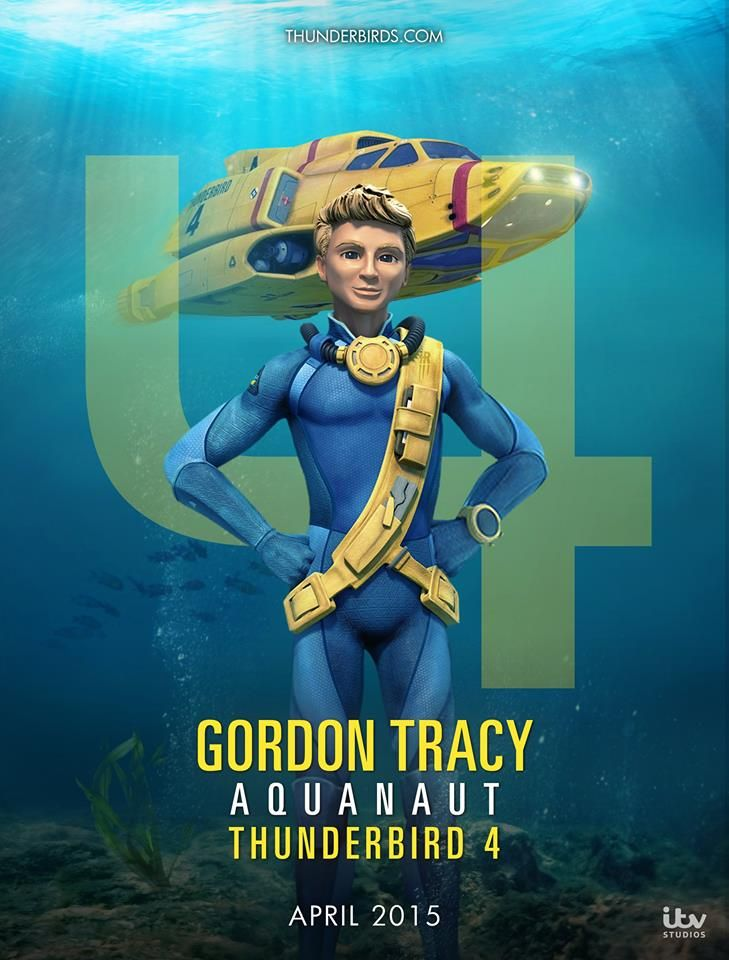 Gordon Tracy, Thunderbirds Are Go! 2015