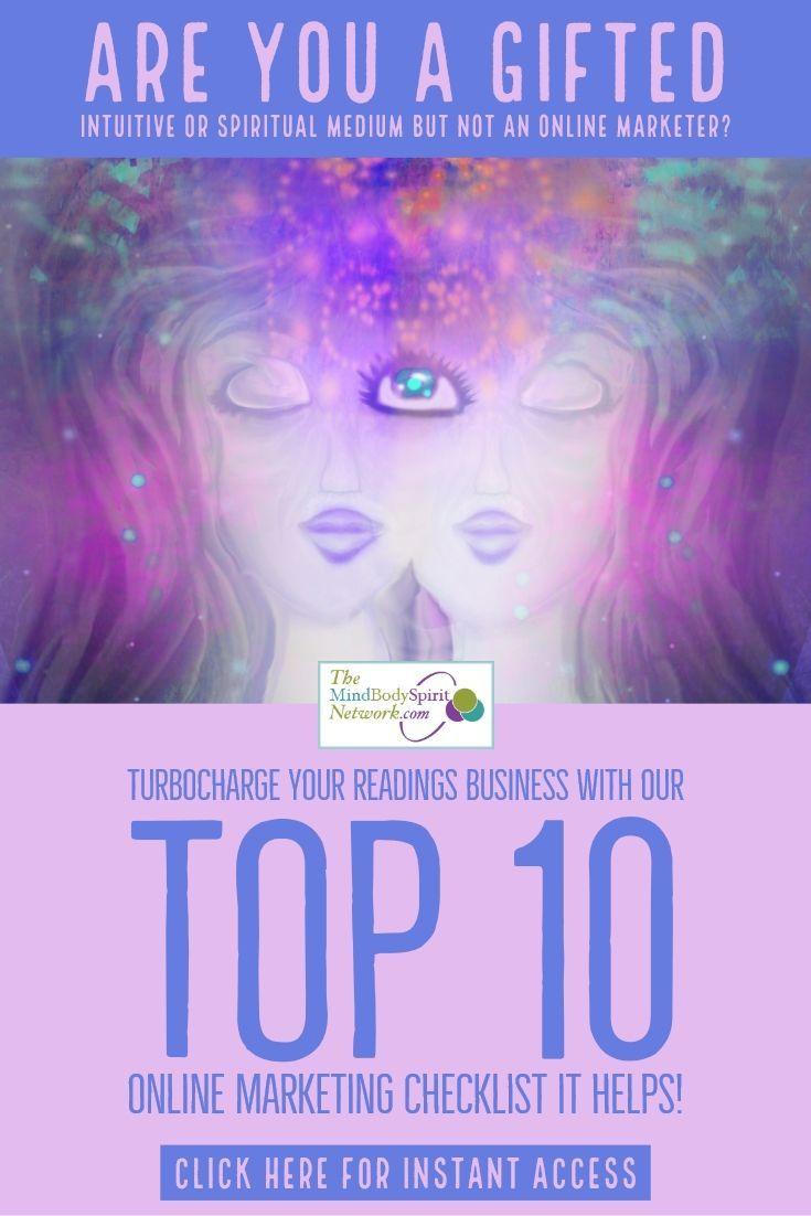 Top 10 Online Marketing Checklist-PIN | Spirituality & Spiritual