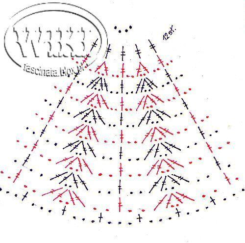 Szydełkowe pisanki3 - schematy