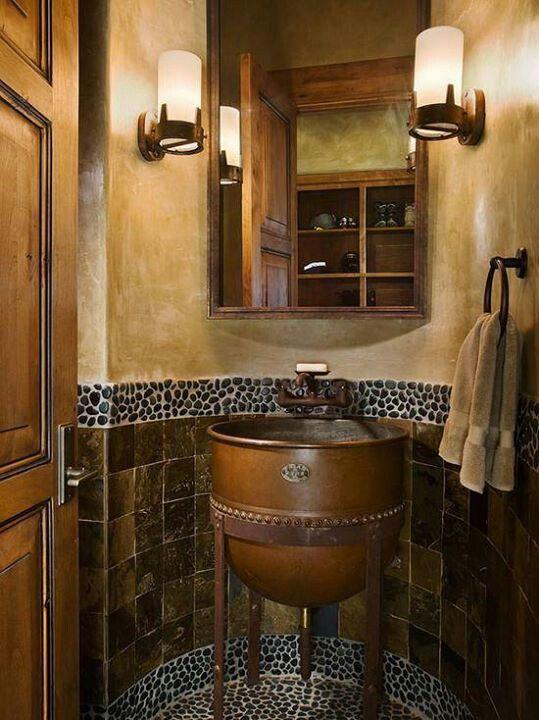 41 best Masculine Bathrooms images on Pinterest Bathroom, Html - badezimmer amp ouml norm