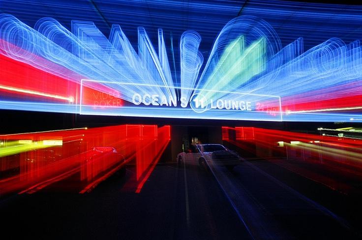 $9 Sin City Art! Ocean's 11 Lounge in Las Vegas Nevada.  Video Poker anyone?  Sin City Art!
