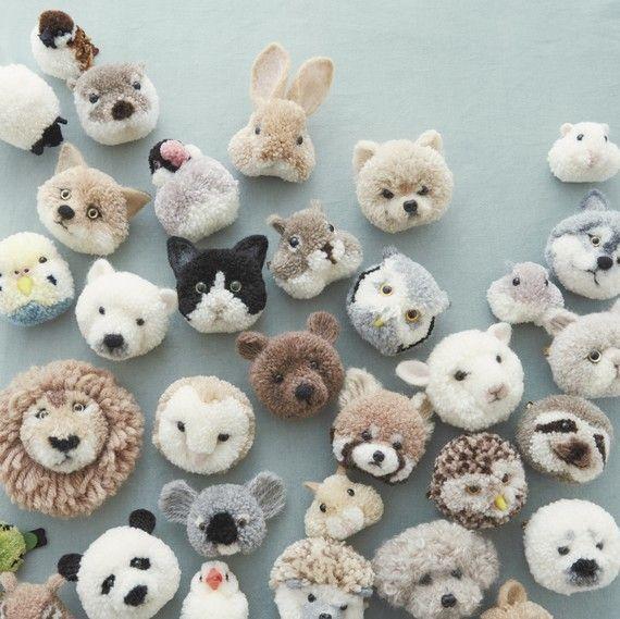 Pom Pom Animals Pom Pom Maker Video Pom Pom Animals Popular Crafts New Crafts