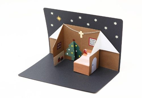 クリスマスカード飛び出すカード【クリスマス特集】
