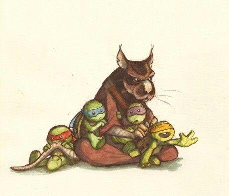 Baby mutant ninja turtles