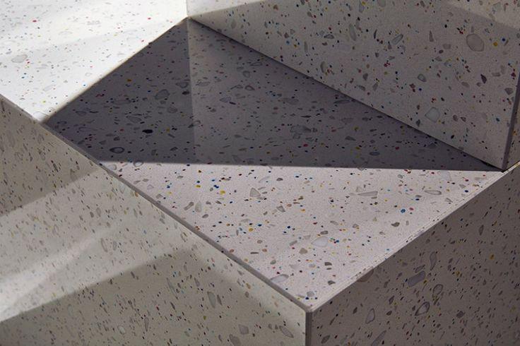 Terrazo Palazzo by Jimenez Lai - Swarovski's Designers of the Future Installation at Design Miami/ Basel 2017 ➤ Discover more luxury lifestyle news at www.covetedition.com @covetedition #covetedmagazine @covetedmagazine #luxurylifestyle #designmiami #basel #swarovski @swarvoski