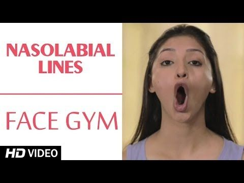 Face Gym - Nasolabial Lines HD | Asha Bachanni - YouTube