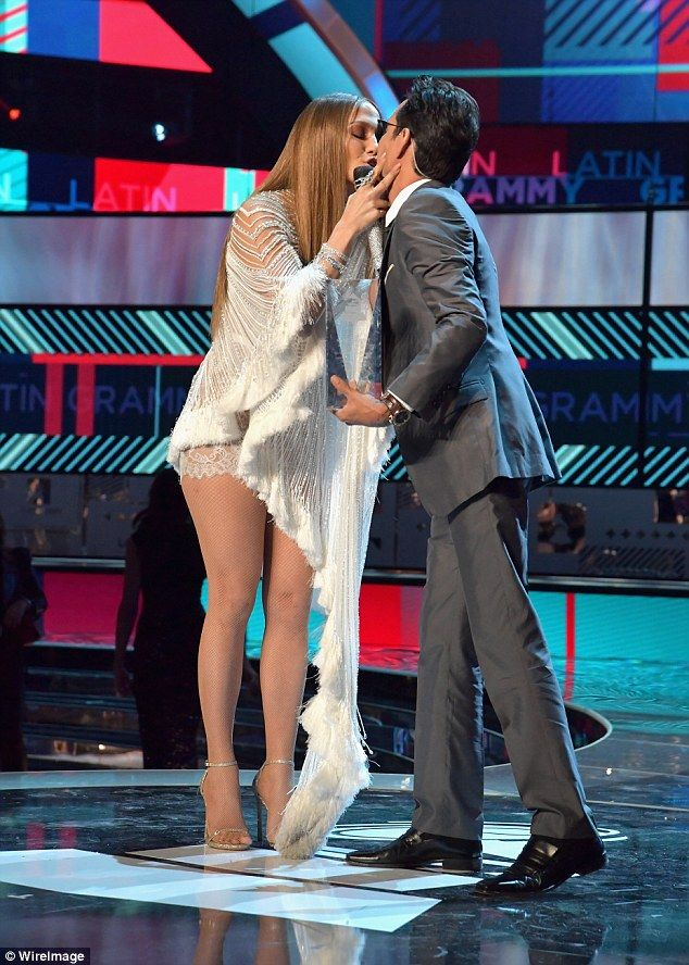 He wants her back: Marc Anthony (Jennifer's long-term ex-husband, here in November) was thought to be trying to get back with Jennifer in 2016