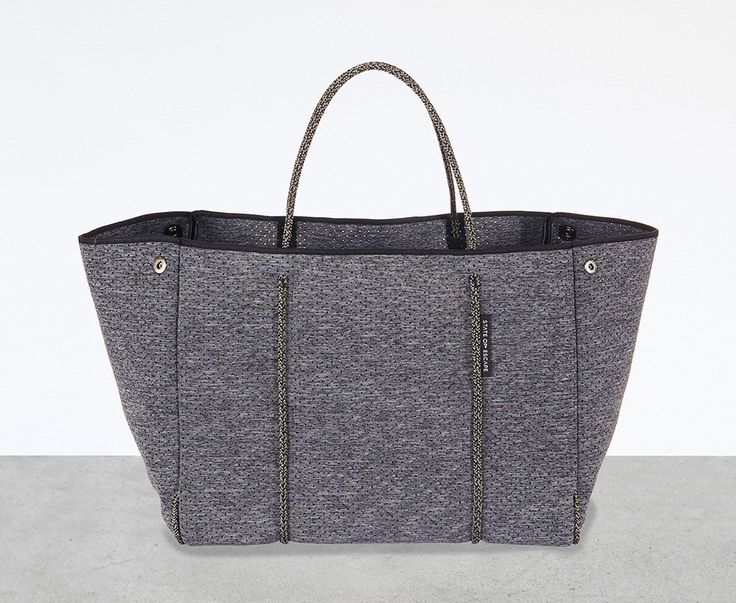 ESCAPE bag in LUXE charcoal marle from State of Escape