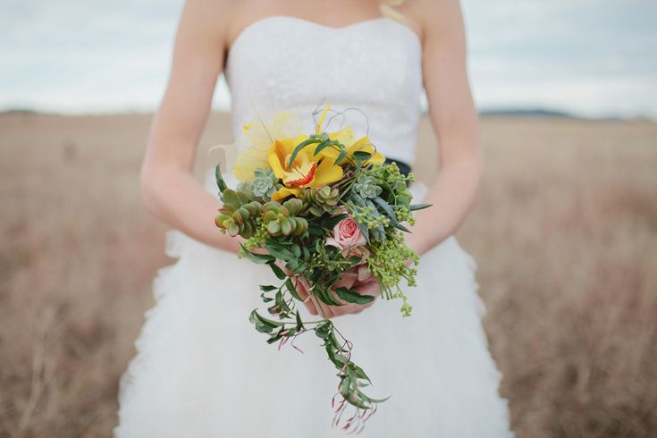Bright and beautiful bouquet  Inspiration Shoot by Bailey Is Brown