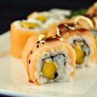 Sushi recept: Mango Zalm Sushi!