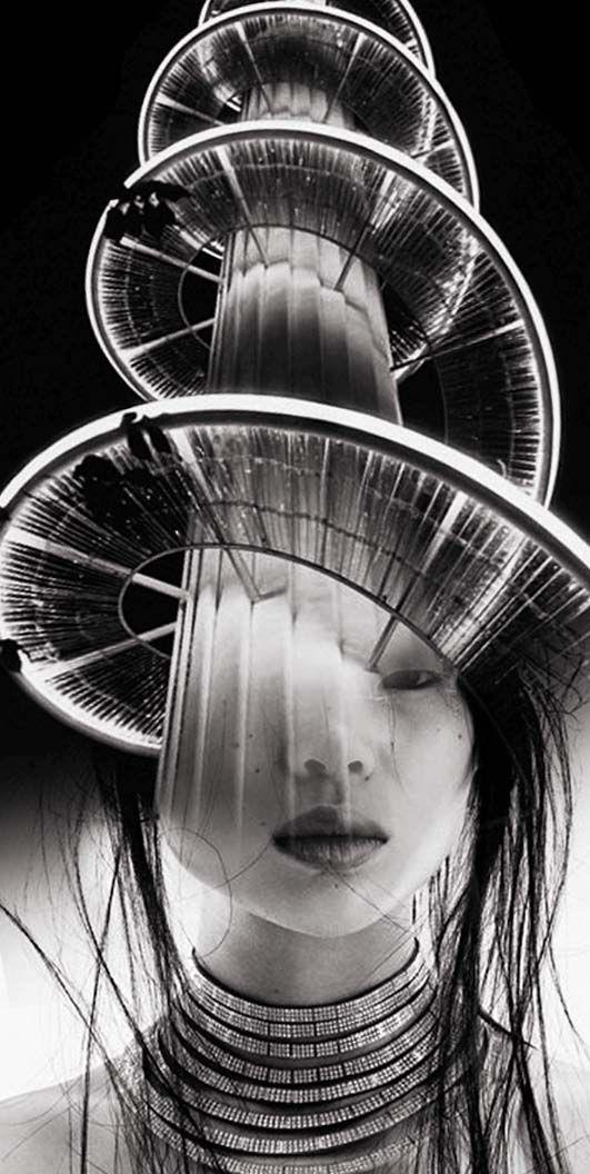 Antonio Mora  spiral woman