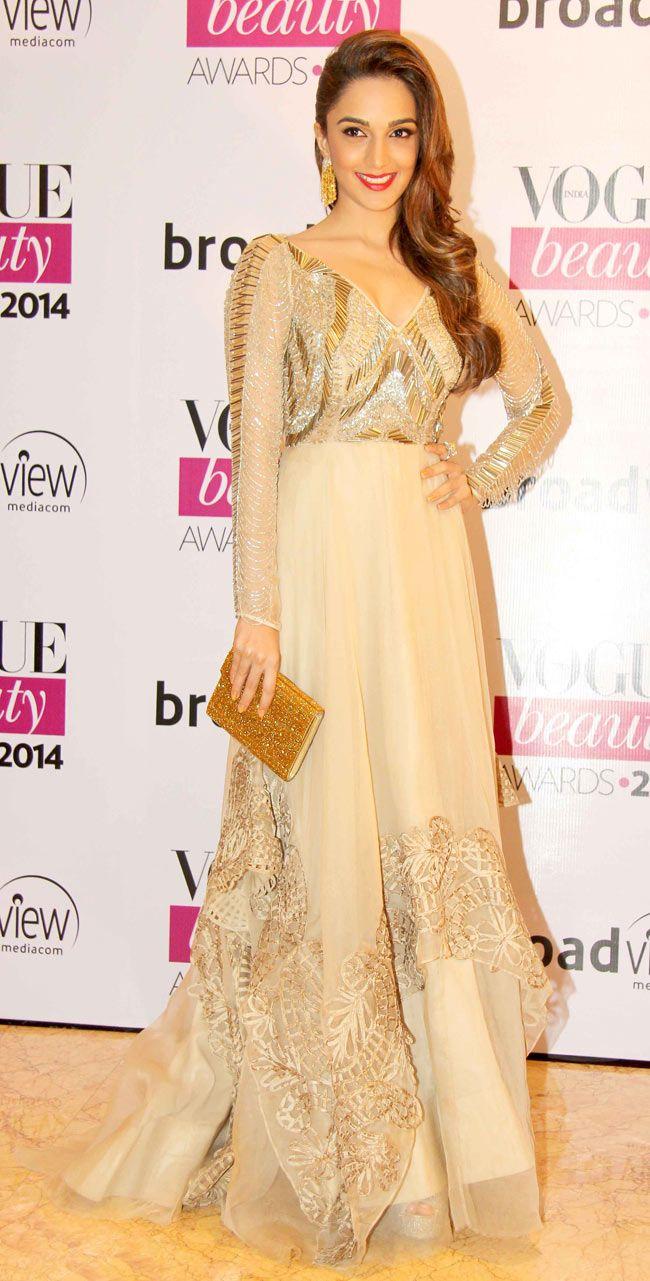 Kiara Advani at Vogue Beauty Awards 2014. #Style #Bollywood #Fashion #Beauty