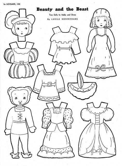 1081 best Paper Dolls: Fairy Tales images on Pinterest