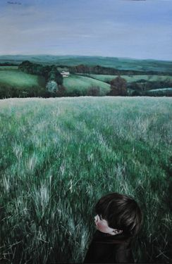 "Saatchi Art Artist Matthew Hickey; Painting, ""Warksfield Head"" #art"