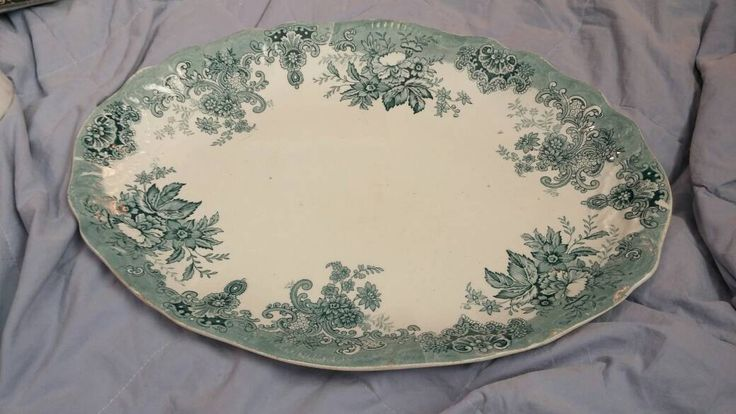 "On Sale Mellor Taylor and Company ""Niagara"" 19th Century Early English Porcelain Platter  Shabby Chic Oval Serving Dish by EastIdahoCompany on Etsy https://www.etsy.com/listing/270673484/on-sale-mellor-taylor-and-company"