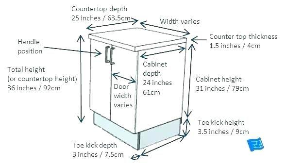 Best Standard Kitchen Cabinet Dimension Standard Sink Base 400 x 300