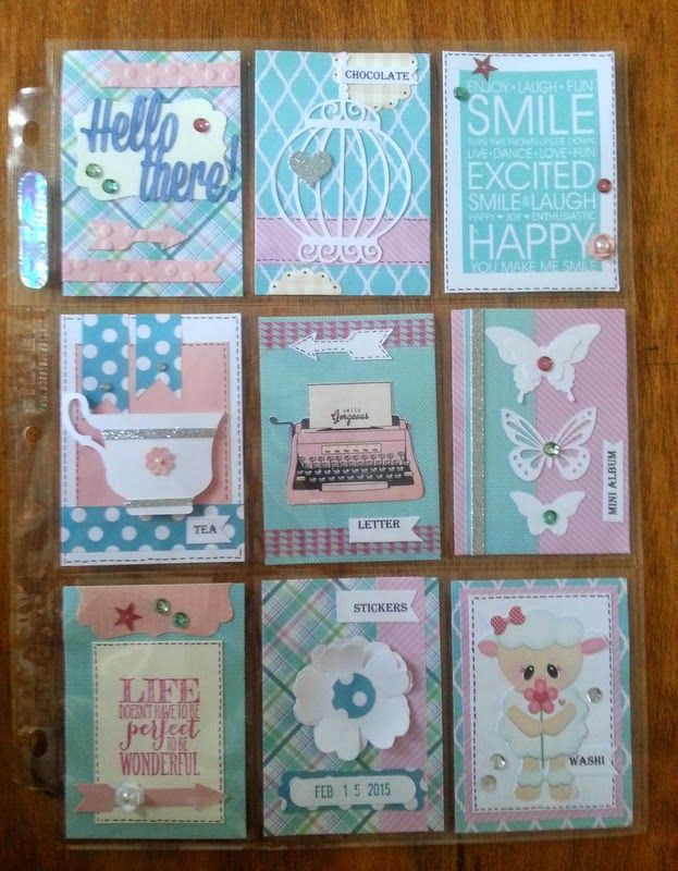 pocket letter pals | When I arrange a swap with a new pal we always discuss theme and or ...