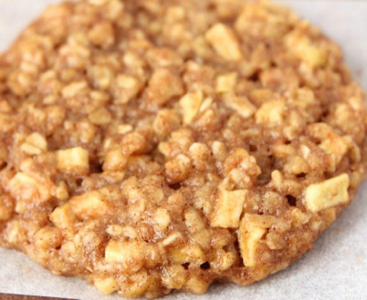 Recette : Biscuits à l'avoine et aux pommes.