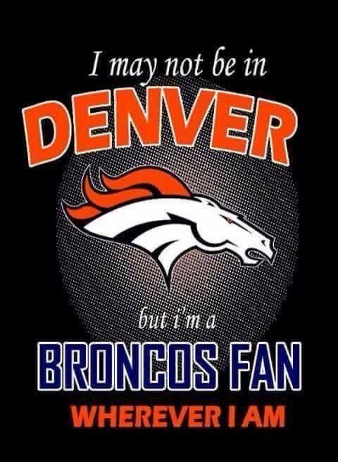 My team and my LIFE!!!! #UnitedinOrange #BroncosCountry