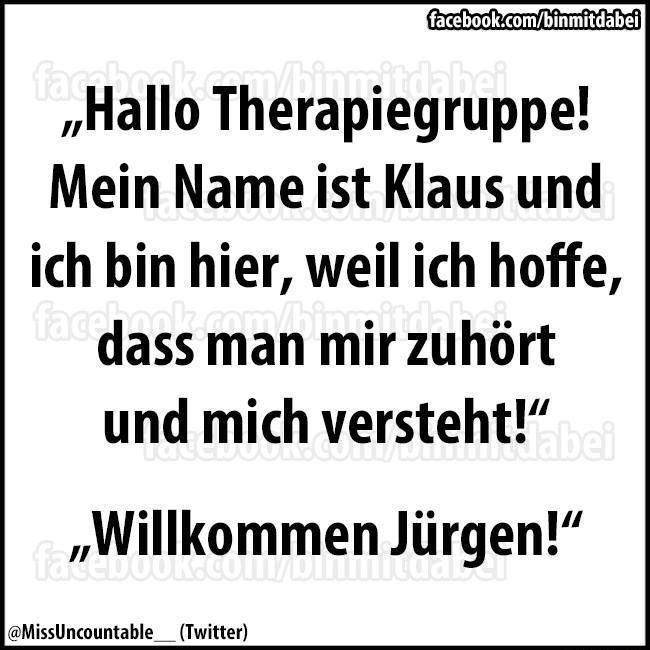 Hallo Therapiegruppe!   echtlustig.com - Lustige Bilder, Lustige ...