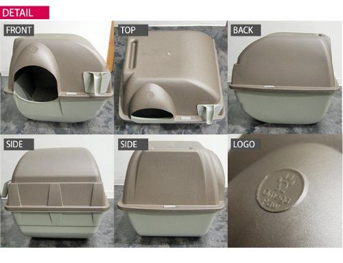 buy omega paw cat litter box large roll away self cleaning new at online store