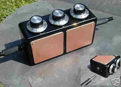 3 Dial Radionics Machine or Black Box with Large Plates Radun308