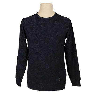 Maglia girocollo fantasia - Fantasia blu - Invernale NEROVAGO. € 43,80. #hallofbrands #hob #maglia #sweater #jersey #knitwear #invernale #wintry #winter