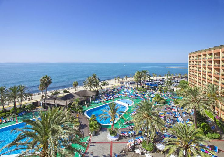Sunset Beach Club Hotel, Benalmadena - Your beachfront hotspot. Book your stay at www.alpharooms.com