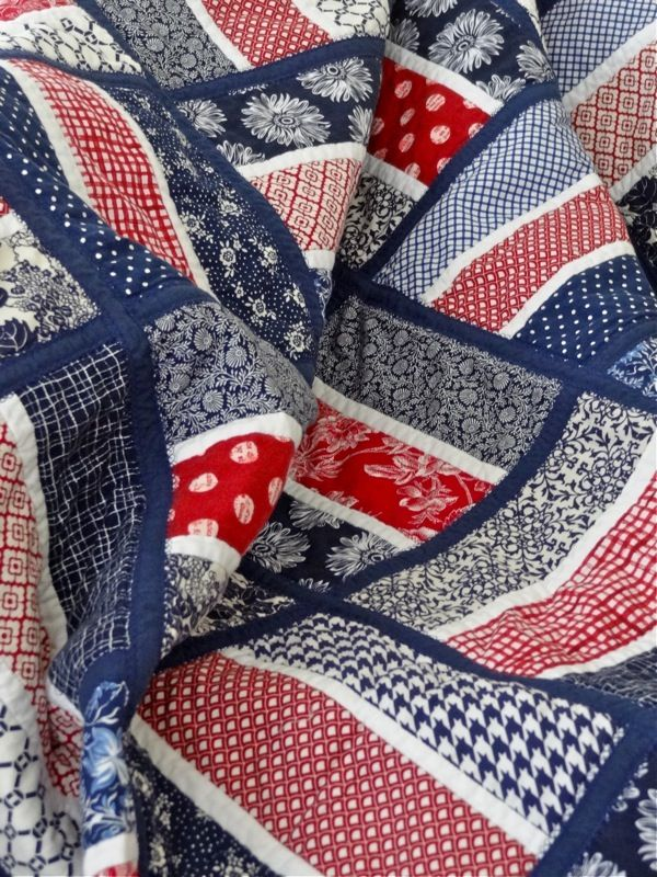 239 Best Red White Blue Quilts Images On Pinterest