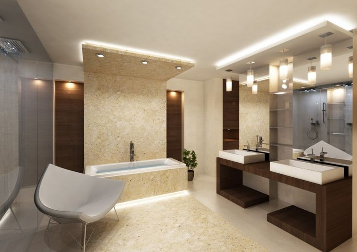 Modern Bathroom Lighting Ideas in Exceptional Installation - http://www.amazadesign.com/modern-bathroom-lighting-ideas-in-exceptional-installation/