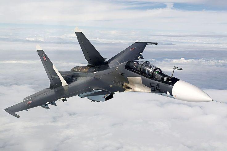 : Sukhoï Su-30 'Flanker-C', Chasseur multirôle, construit par Sukhoï, en 1993, pour Russie