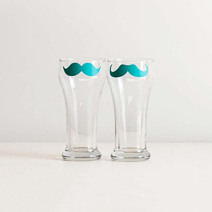 Beer Glasses Pair II only $28