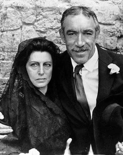 Ana Magnani y Anthony Quinn/kalid paola