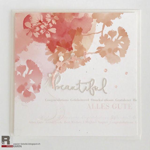 Papierliebelei: Kirschblüten
