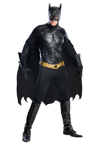 Grand Heritage Batman Costume ($298.99) The Dark Knight | HalloweenCostumes.com | Expensive, but this is the BEST Batman costume I've seen in a while!