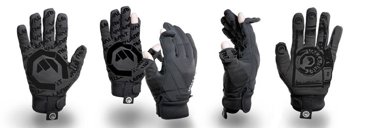 Gloves for photographers now in black