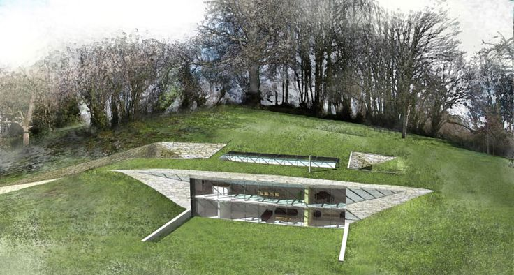 Lom Architecture And Design House In Devon It Is 350 Square Metres And Has A Green Roof A Triple Glazed Primary Facade With Solar Shading Geo