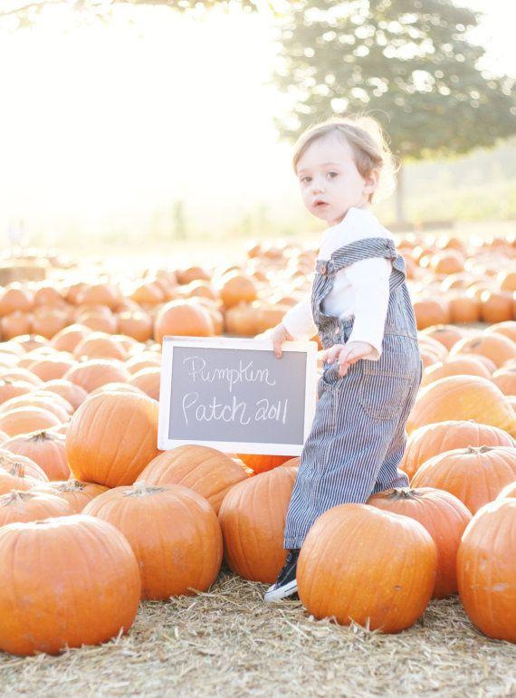 Pumpkin Patch Sign Toddler Chalkboard (Item Number 140272) on Etsy, $13.50