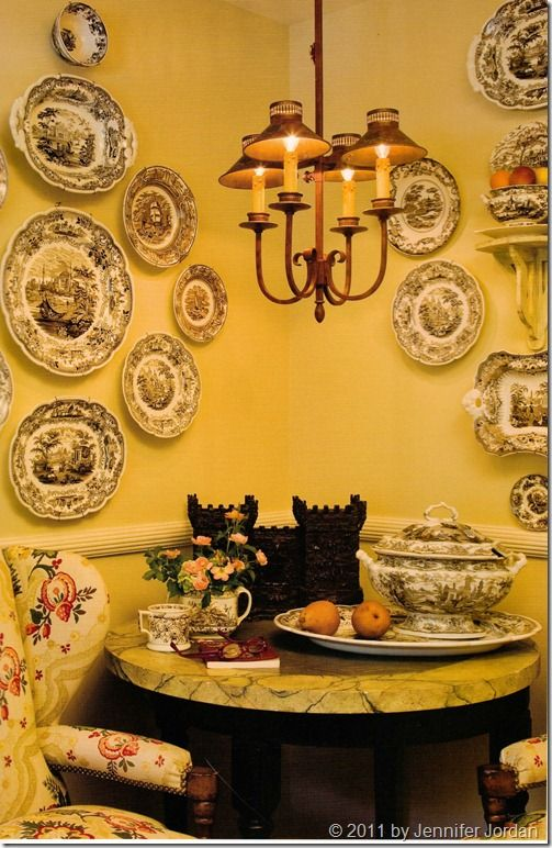 Charles Faudree...and Me...Together Again! Plate WallWall PlatesFrench Country ... : country decorative plates - Pezcame.Com