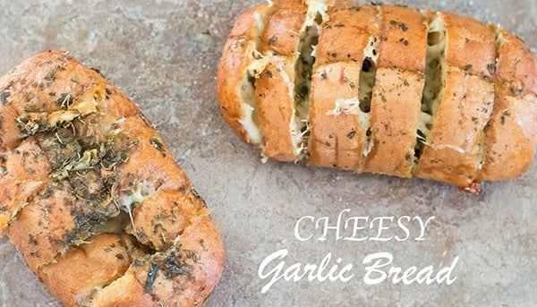 Cheesy Garlic Bread (oder Knoblauchkäsebrot?) – Diese käsigen Knoblauchbrote …   – recipes
