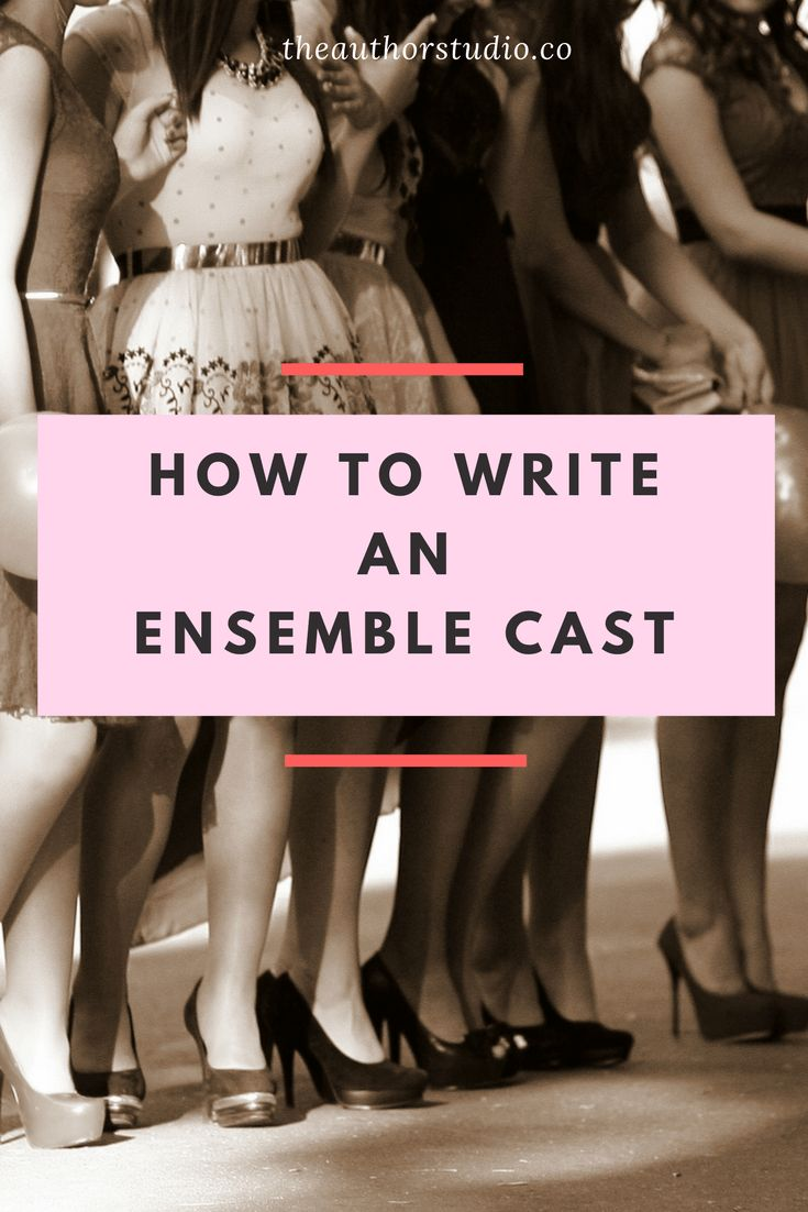 Some of the most beloved stories start with a ragtag band, a scrappy group of buddies, or a rogue's gallery setting off on adventures. But that doesn't mean that writing an ensemble cast is easy. W…