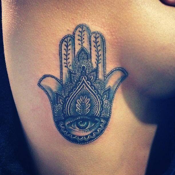 Hand Of Fatima Tattoo: Hand Of Fatima / Khamsa Tattoo