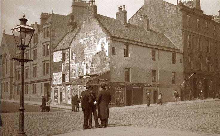 John Knox Street at Castle Street, Glasgow