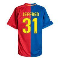 Nike Barcelona Home Shirt 2008/09 with Jeffren 31 Barcelona Home Shirt 2008/09 with Jeffren 31 printing. http://www.comparestoreprices.co.uk/football-shirts/nike-barcelona-home-shirt-2008-09-with-jeffren-31.asp