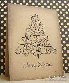 Новогодние открытки своими руками 77 фото